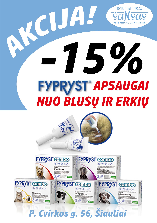 Fyprist 15proc akcija
